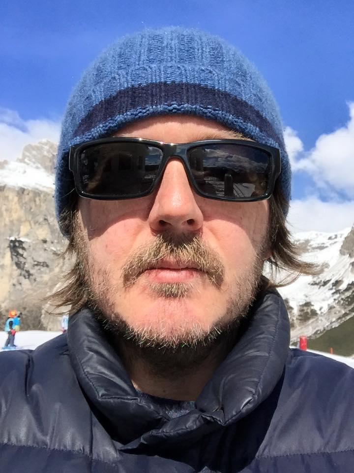 ALTA  MONTAGNA Selfie in quota  (Colfosco, BZ, lunedì 6 aprile 2015).