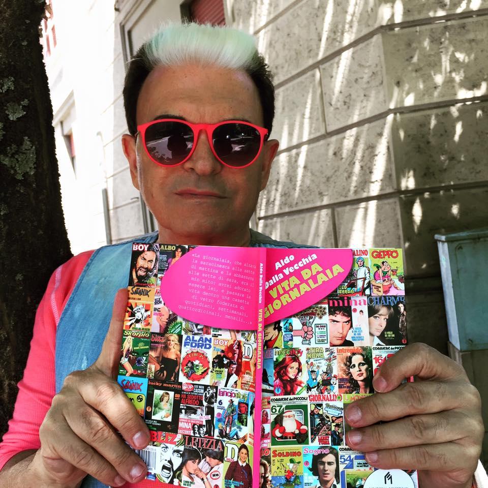 CRISTIANO MALGIOGLIO ♥ VITA DA GIORNALAIA (Salsomaggiore Terme, PR, venerdì 26 giugno 2015).
