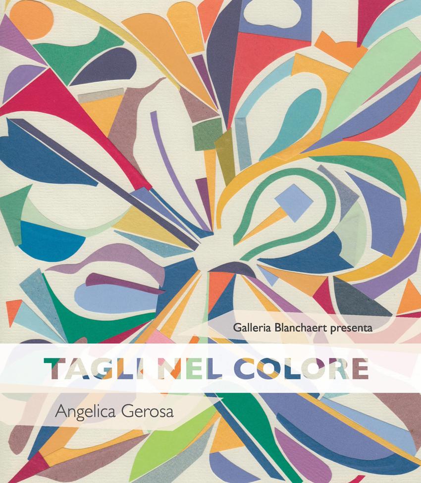 Angelica Gerosa - Tagli nel Colore - copertina