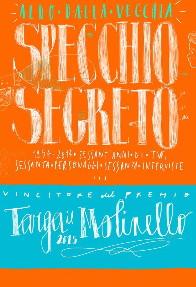 Copertina Specchio Segreto realizzata da Alessandra Belloni per Premio il Molinello 2015