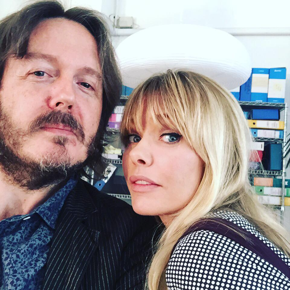 CON BARBARA SNELLENBURG Intervistata per lo speciale di Rete 4 «Insieme. Sandra & Raimondo» (Milano, martedì 8 settembre 2015).