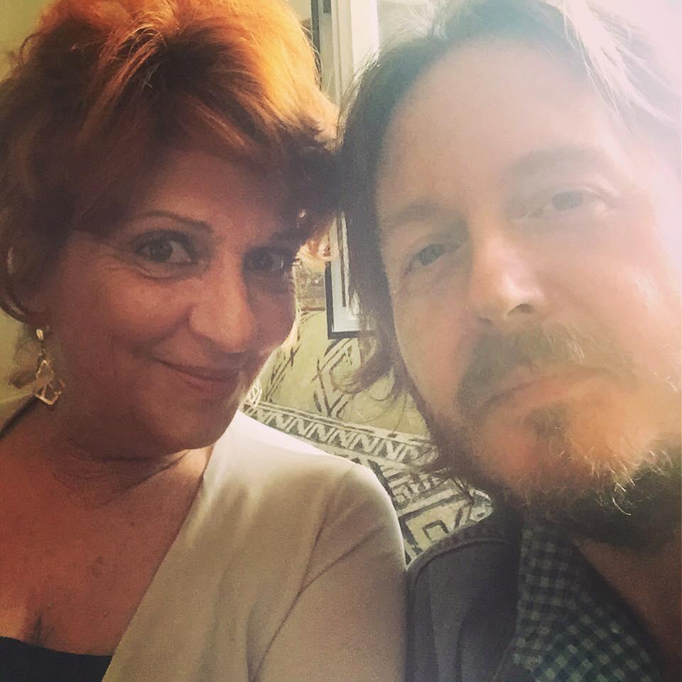 CON GIORGIA TRASSELLI Intervistata per lo speciale di Rete 4 «Insieme. Sandra & Raimondo» (Roma, lunedì 7 settembre 2015).