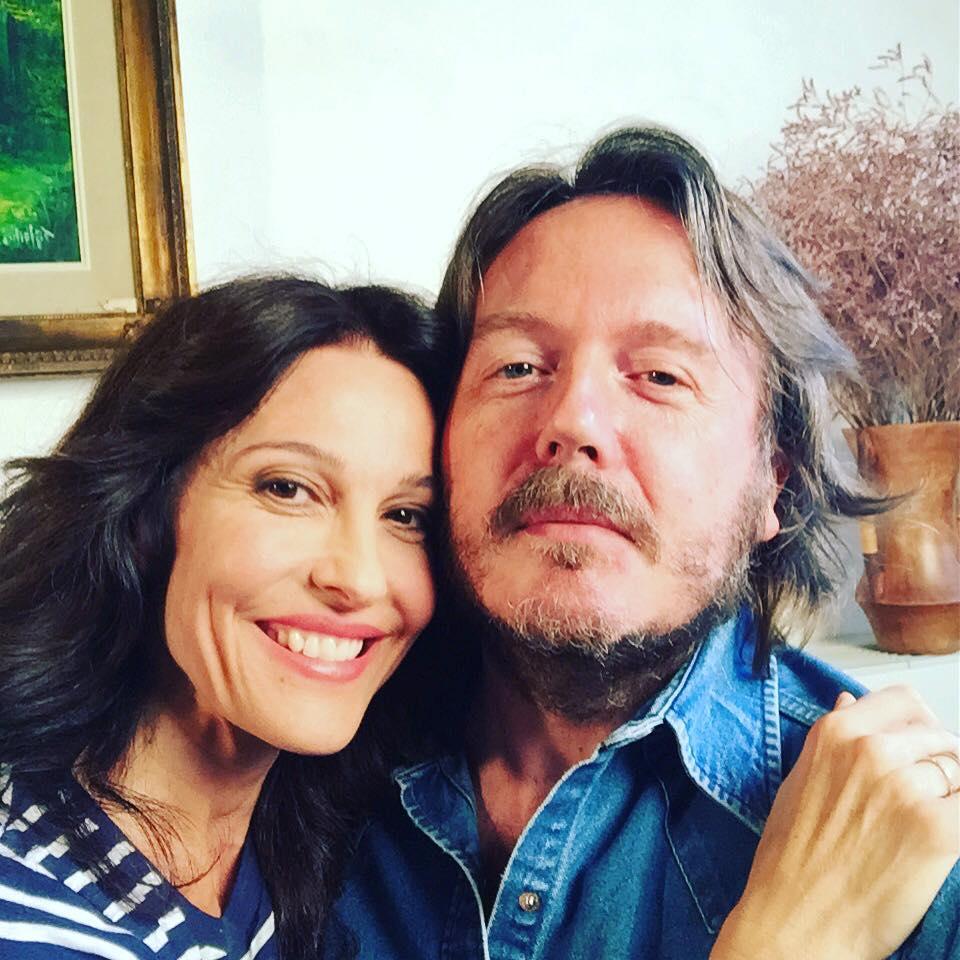 CON LUANA COLUSSI Intervistata per lo speciale di Rete 4 «Insieme. Sandra & Raimondo» (Treviso, venerdì 4 settembre 2015).