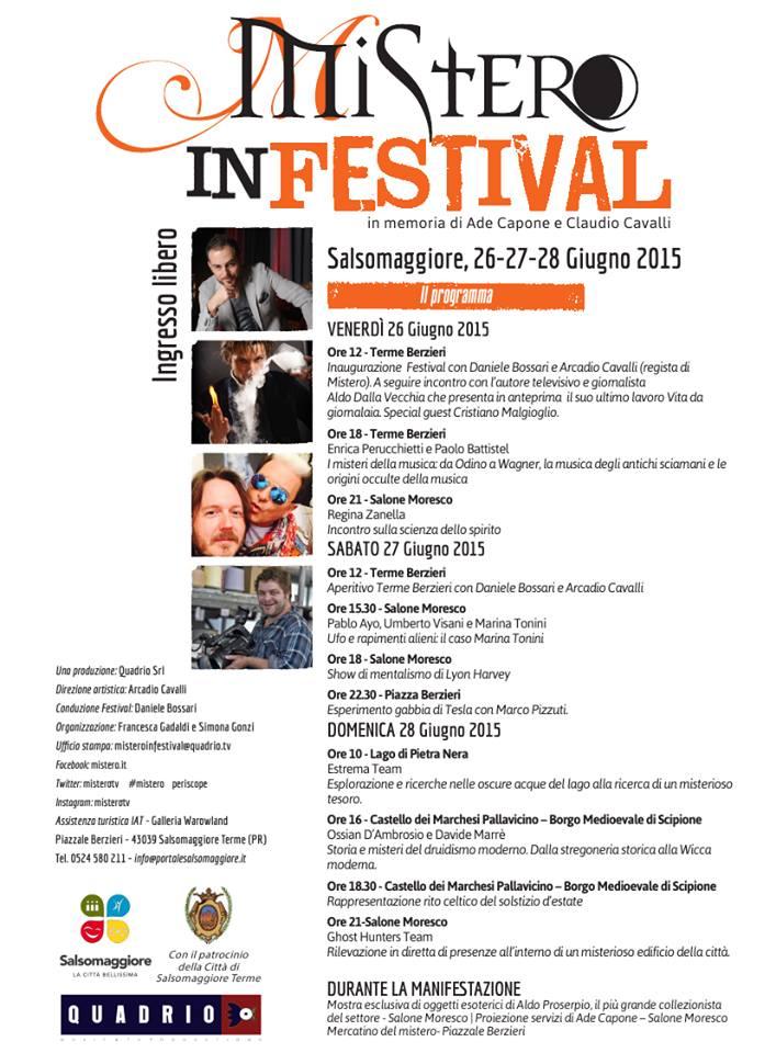 La giornalaia in festival