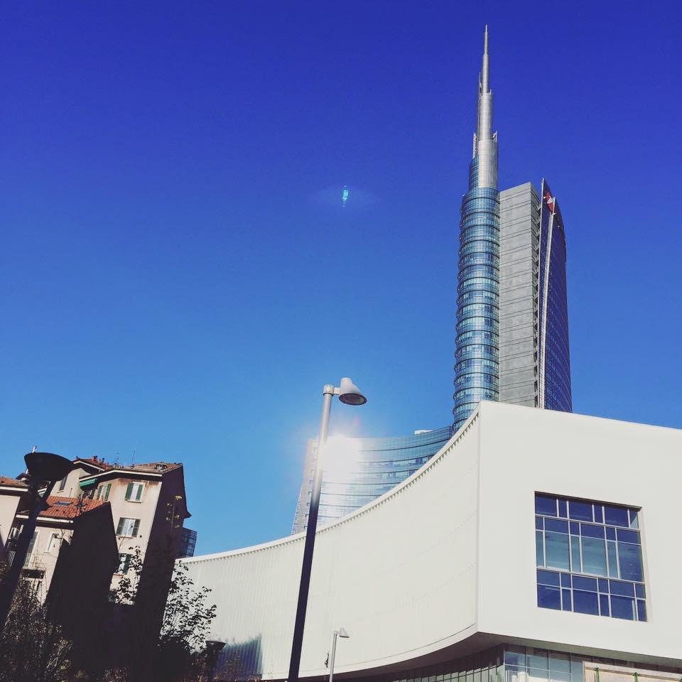 PIAZZA GAE AULENTI (Milano, venerdì 6 novembre 2015).