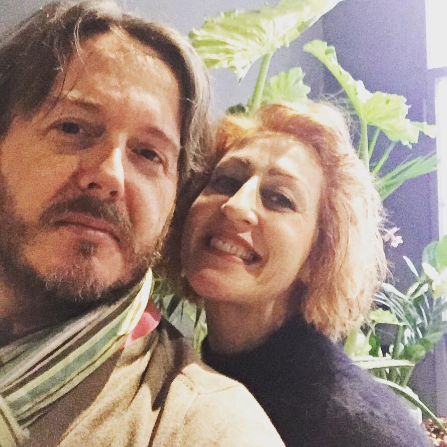 CON LA «CANTAFIORISTA» ROSALBA PICCINNI (Milano, sabato 19 dicembre 2015).