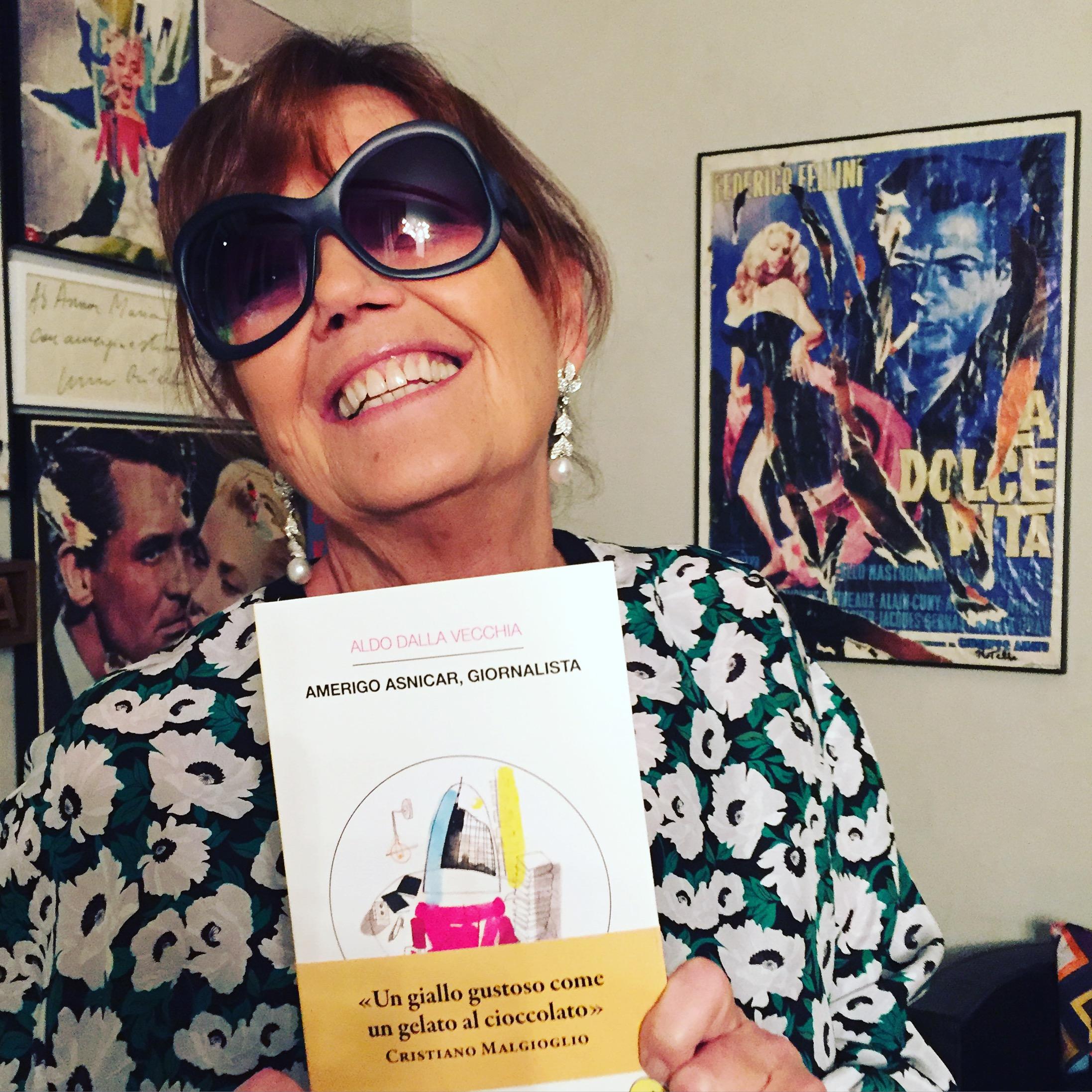 ANNAMARIA BERNARDINI DE PACE ♥ AMERIGO ASNICAR, GIORNALISTA (Milano, domenica 17 gennaio 2016).