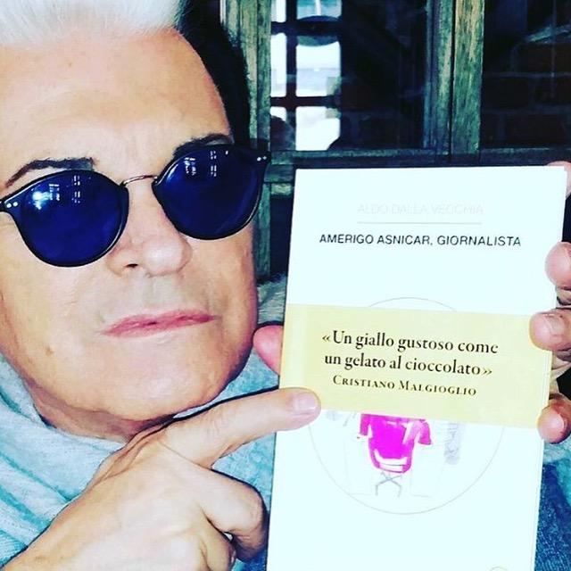 CRISTIANO MALGIOGLIO ♥ AMERIGO ASNICAR, GIORNALISTA (Milano, mercoledì 20 gennaio 2016).