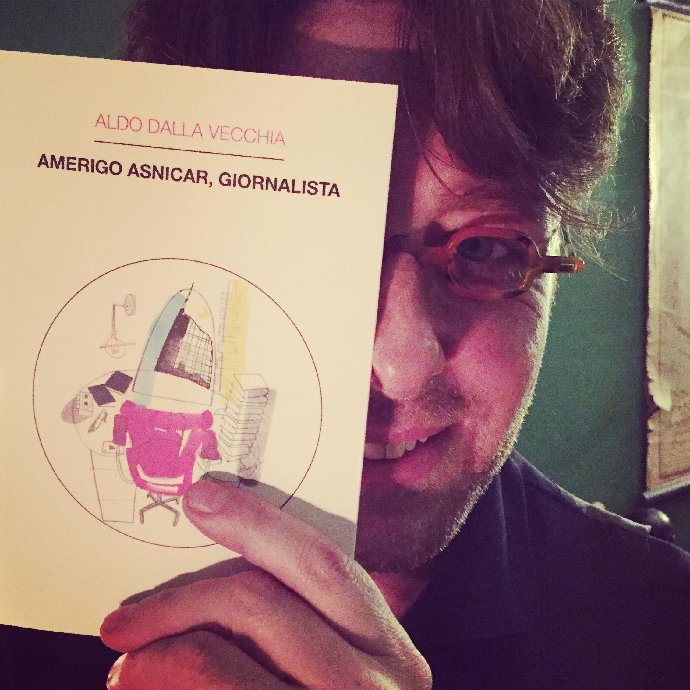 ALESSANDRO DI SARNO ♥ AMERIGO ASNICAR, GIORNALISTA  (Milano, giovedì 14 gennaio 2016).
