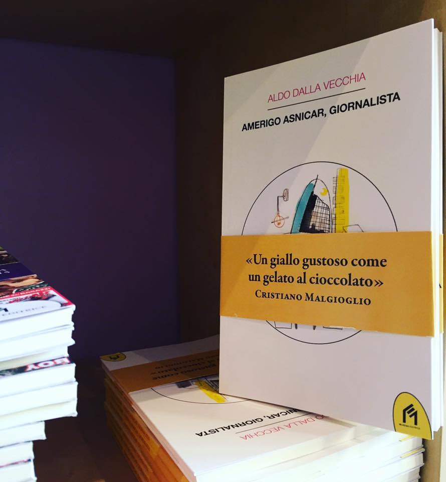 Amerigo Asnicar, giornalista da Il Mio Libro a Milano